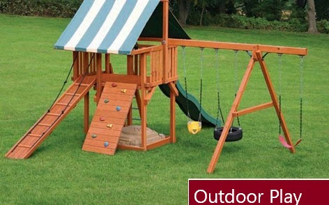 KIDKRAFT PLAYSET INSTALLATION